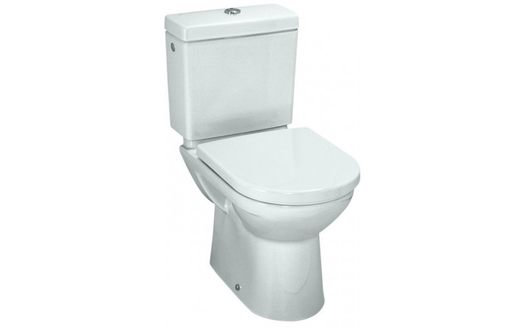 WC kombinované Laufen odpad vodorovný Pro  bílá