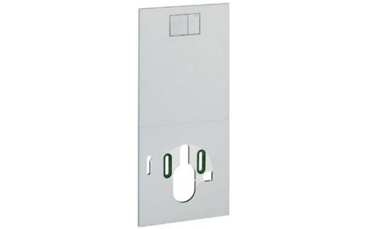 GEBERIT AQUACLEAN krycí deska 47,5x106cm, designová, sklo, bílá