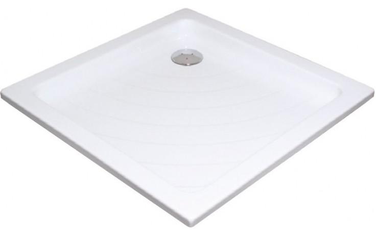 Vanička plastová Ravak čtverec ANGELA 80 PU - o.90 80x80x185 bílá