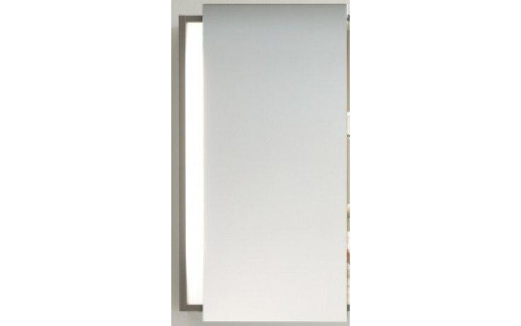 DURAVIT KETHO zrcadlová skříňka 650x180mm s panty vlevo, bílá matná/bílá matná KT7530L1818