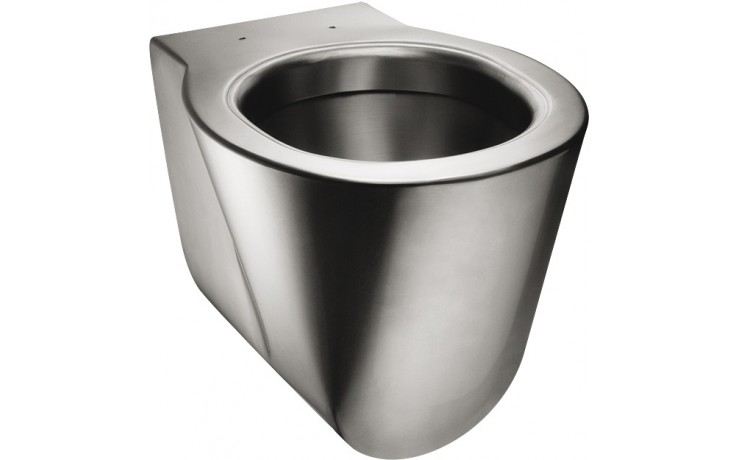 SANELA SLWN12 WC 359x535mm, závěsné, antivandal, nerez mat