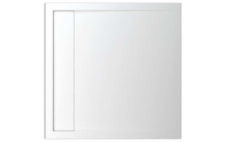 TEIKO HERCULES 100X100 sprchová vanička 100x100x3,5cm, čtverec, akrylát, bílá