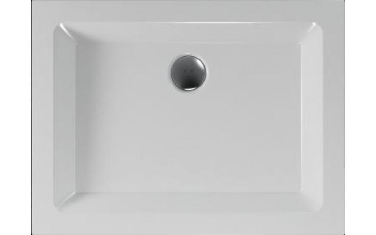 Vanička plastová Teiko obdélník - 100x75x5cm bílá