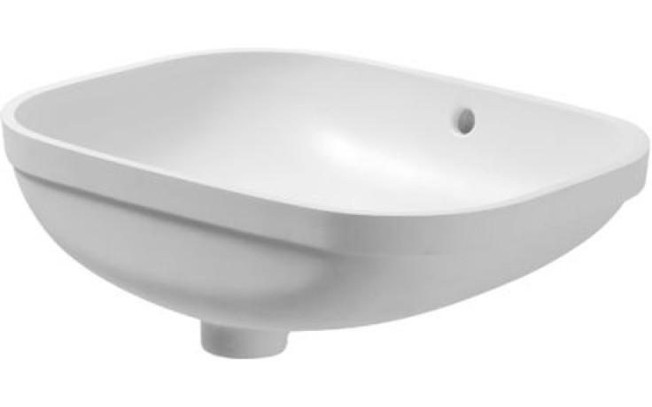 Umyvadlo nábytkové Duravit - D-Code pod desku 56 cm bílá