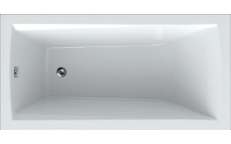 Vana plastová Teiko klasická Trend 150 vč.noh 150x70x45cm bílá