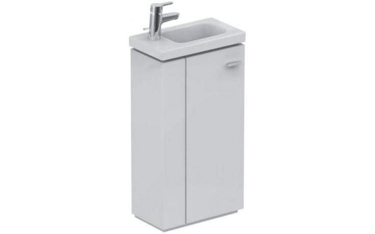 Umývátko nábytkové Ideal Standard s otvorem Connect Space s odkládací plochou vlevo 450x250x130mm bílá