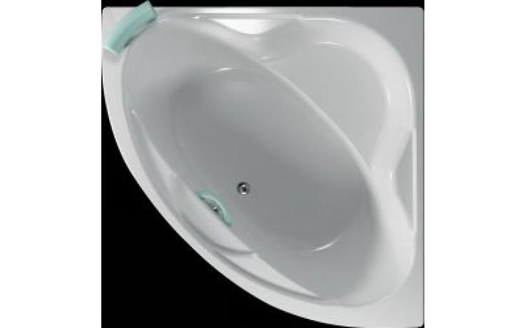 Vana plastová Teiko tvarovaná masážní Samos ECO HYDRO 140x140x43cm bílá