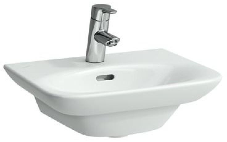Umývátko klasické Laufen s otvorem Palace 45 cm bílá
