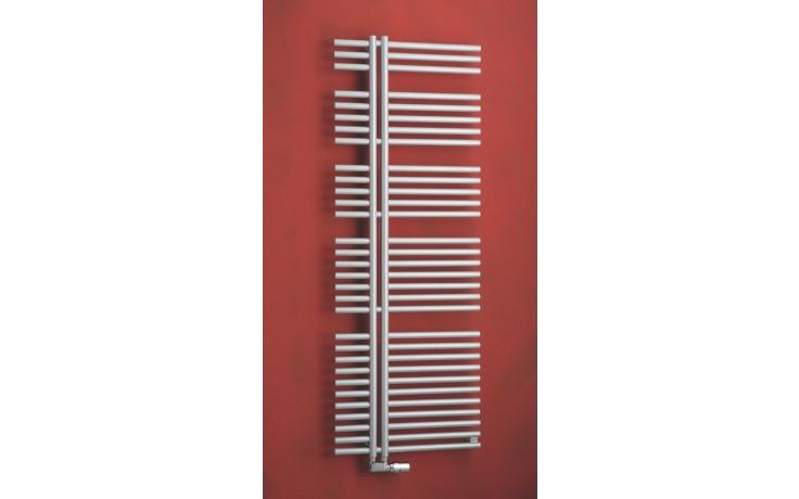 Radiátor koupelnový PMH Kronos 600/1670 metalická stříbrná