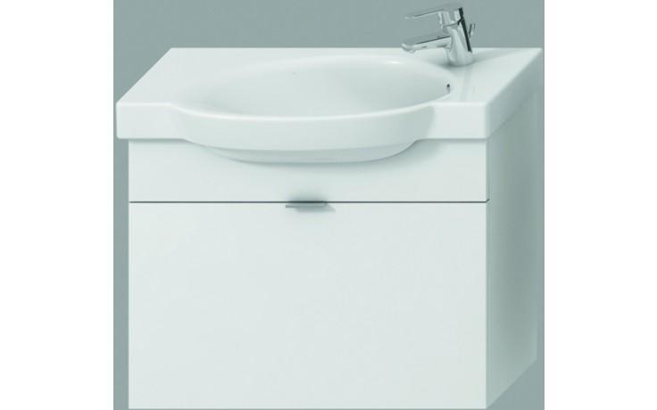 JIKA TIGO skříňka s umyvadlem 670x270mm s 1 zásuvkou, bílá