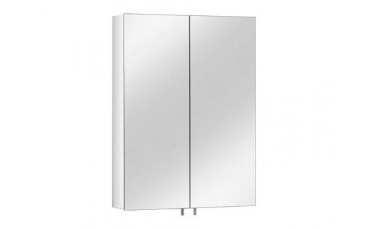Nábytek zrcadlová skříňka Keuco Royal 30 05601171300 elox 60x80x14,3cm elox/bez osvětlení