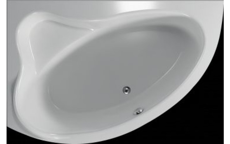 Vana plastová Teiko tvarovaná masážní Cejlon L EASY 150x100x45cm bílá