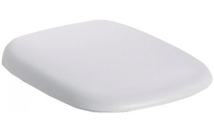 Sedátko WC Kolo duraplastové s kov. panty Style s automatickým pozvolným sklápěním  bílá