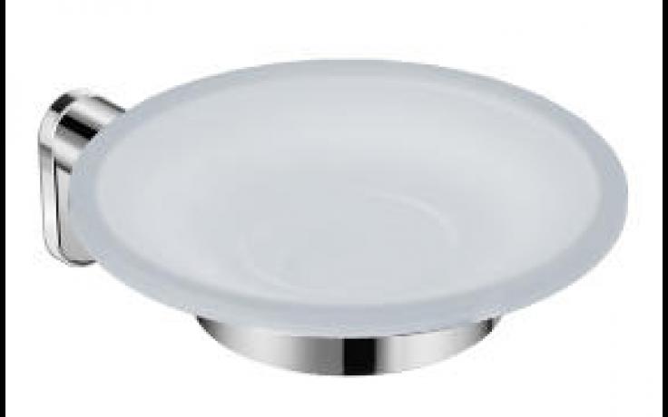 JIKA BASIC držák s mýdlenkou 12x15,6x6cm, levý, chrom