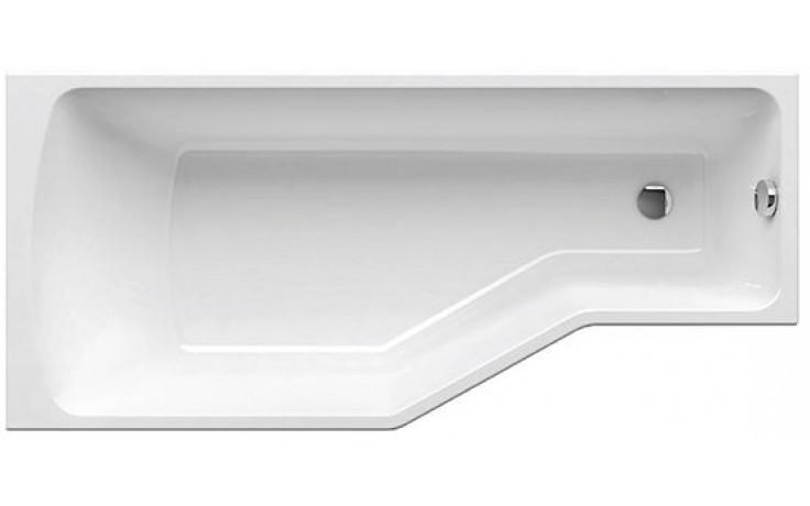 RAVAK BE HAPPY 170 P asymetrická vana 1700x750mm akrylátová, pravá, bílá