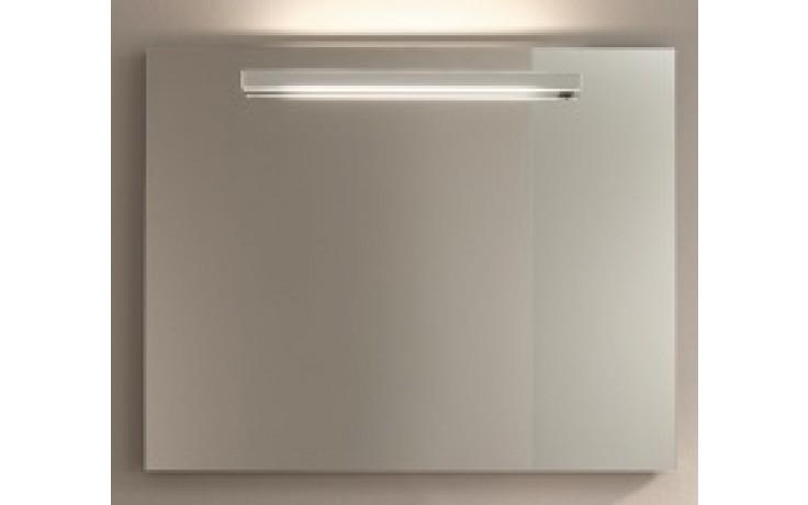 Nábytek zrcadlo Duravit Fogo s osvětlením 79,7x79,7 cm americký ořech