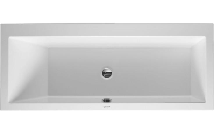 Vana plastová Duravit - Vero 170x70x46 cm bílá