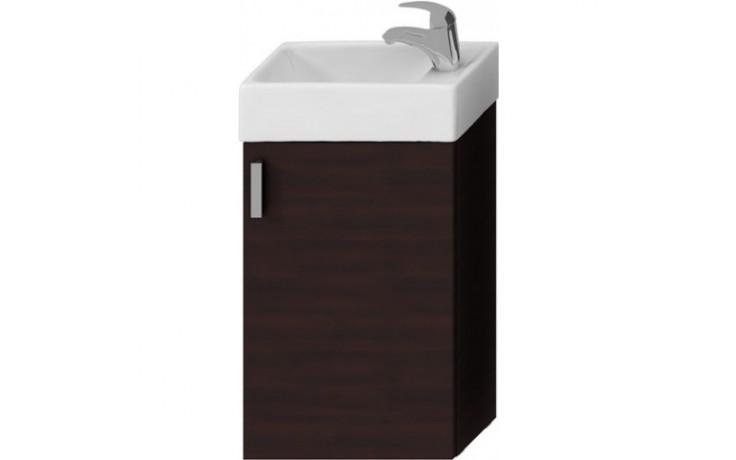 JIKA PETIT skříňka s umývátkem 386x221x585mm, tmavý dub/tmavý dub