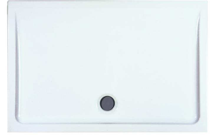 LAUFEN MERANO keramická sprchová vanička 1100x750x65mm obdélníková, bílá 8.5495.2.000.000.3