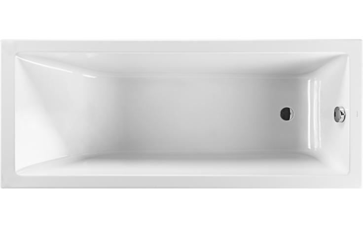 Vana plastová Jika klasická Cubito bez podpěr 160x75 cm bílá
