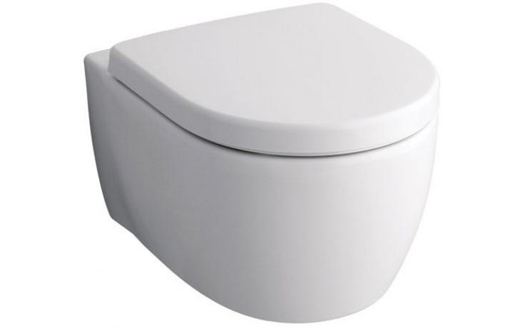 WC závěsné Keramag odpad vodorovný iCon 6 l bílá