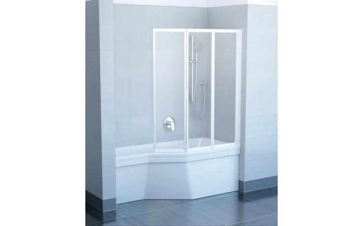 Zástěna vanová - plast Concept 50 v.1400mm bílá/santro