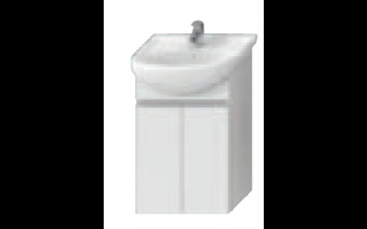 JIKA LYRA skříňka pod umyvadlo 500x315mm, bílá/bílý lak