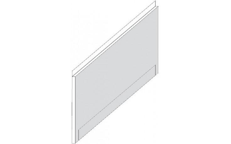 RAVAK YOU 175 panel 1750mm čelní, snowwhite CZ021W0A00