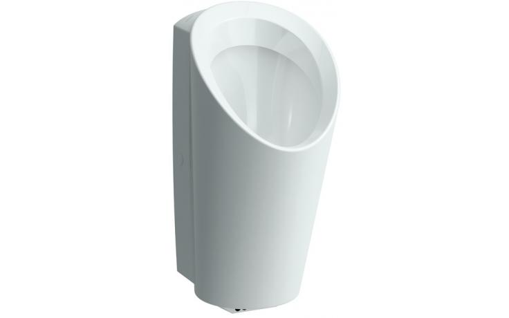 LAUFEN LEMA odsávací urinál se senzorem 350x400x700mm s přibližovací elektronikou, bílá 8.4019.6.000.401.1