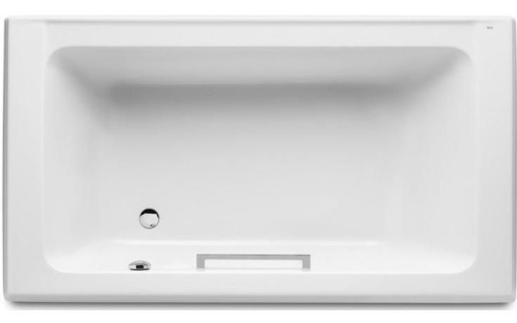 ROCA AMERICA vana klasická 1800x1000x420mm akrylátová s madlem bílá 7247552001