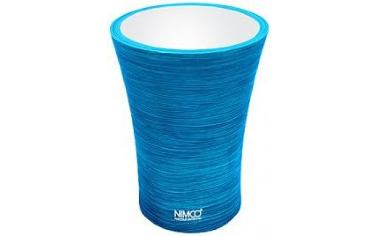 NIMCO ATRI pohárek na kartáčky 85x85x115mm modrá AT 5058-60