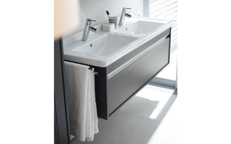 DURAVIT KETHO skříňka pod umyvadlo 1200x465mm závěsná, bílá matná/bílá matná KT666601818