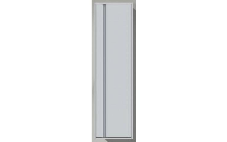 Nábytek skříňka Duravit Ketho vysoká pravá 500x360x1800 mm bílá matná/bílá matná