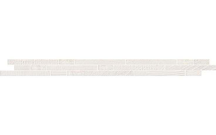 NAXOS LE MARAIS listela 5x60,5cm, vitra milk 75091