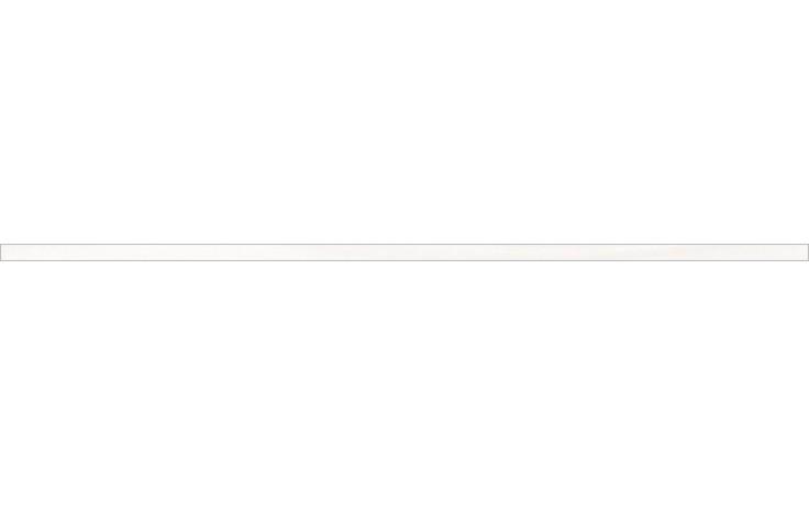 RAKO TENDENCE listela 1,3x60cm bílá