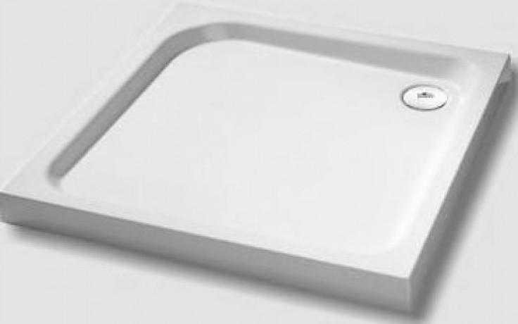 CONCEPT 100 panel ke sprchové vaničce 80x80cm čtverec bílý PCT800