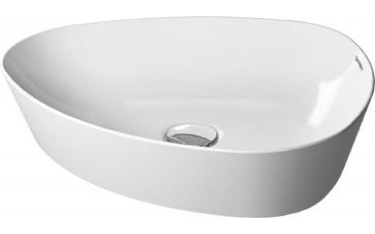 DURAVIT CAPE COD umyvadlová mísa 500x405mm bez přetoku, bílá