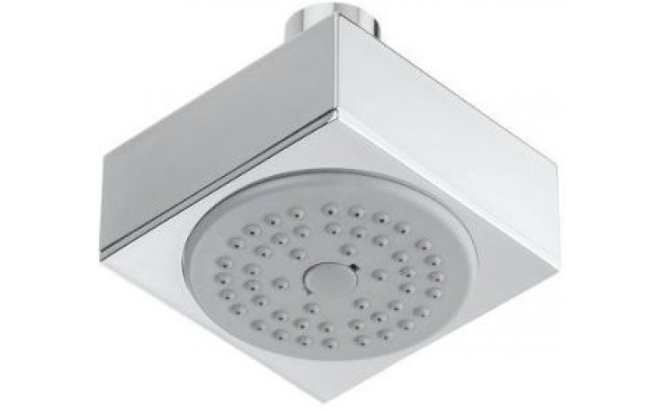 Sprcha hlavová Raf Kubic/1 pevná 75x75 mm chrom
