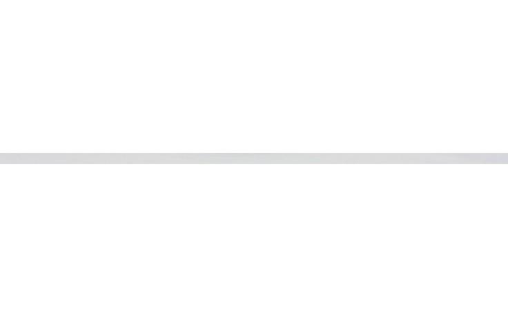 Listela Rako Air 60x1,3 cm světle šedá