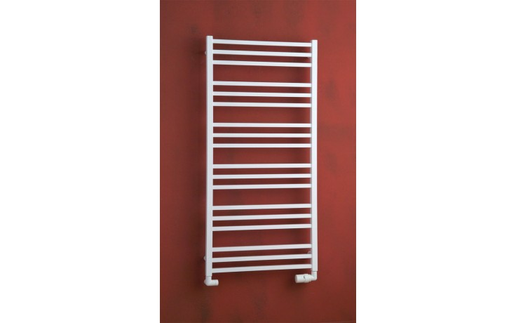 Radiátor koupelnový PMH Avento 1210/480 484 W (75/65C) bílá RAL9010 FS