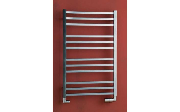 Radiátor koupelnový PMH Avento 500/1210 468 W (75/65C) kartáčovaná nerez