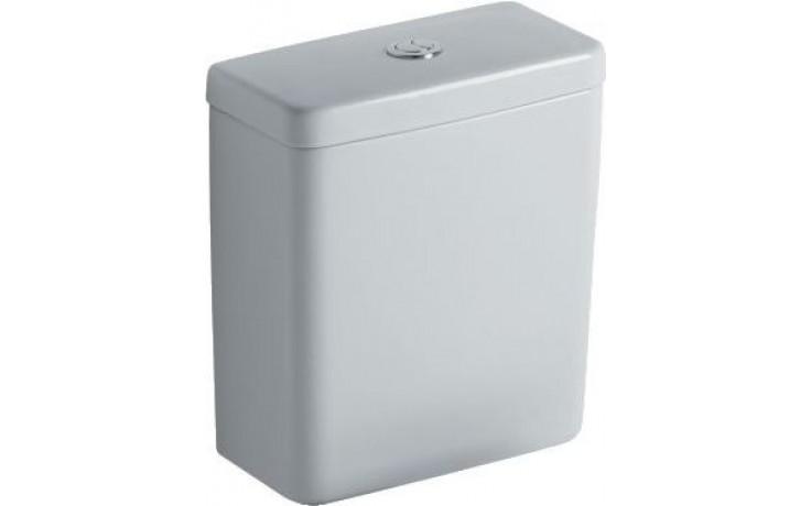 Nádržka keramická Ideal Standard s armaturou dvoupolohovou Connect Cube 3/6 l bílá E797001