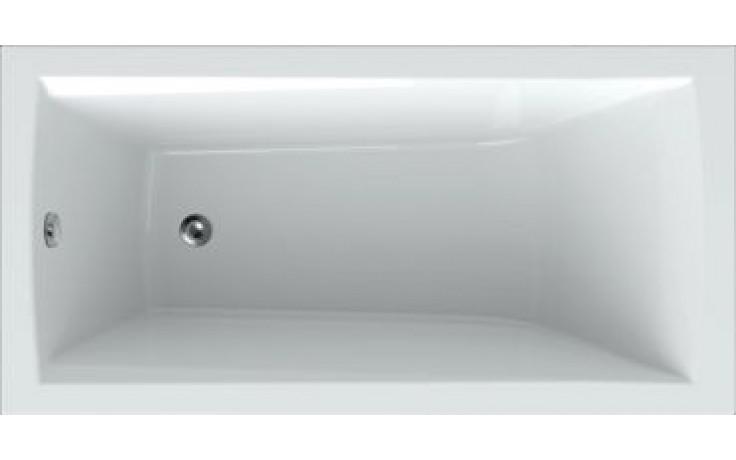 Vana plastová Teiko klasická Trend 140 140x70cm bílá