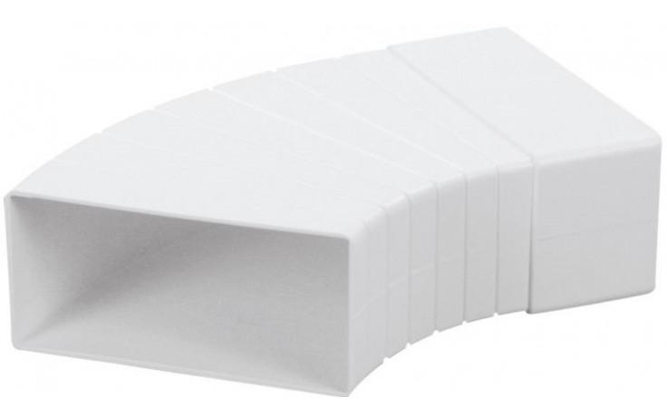 HACO CKW 2x110x55 ventilační systém 110x55mm, úhelník, bílá