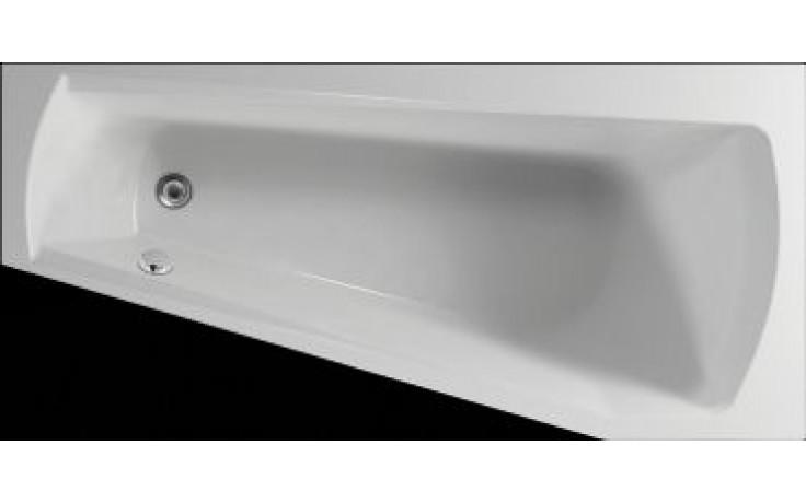 Vana plastová Teiko tvarovaná Harmony P 160x75x42cm bílá