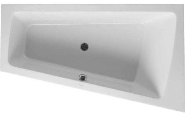 Vana plastová Duravit - Paiova rohová pravá na zabudování 170x100x46 cm bílá