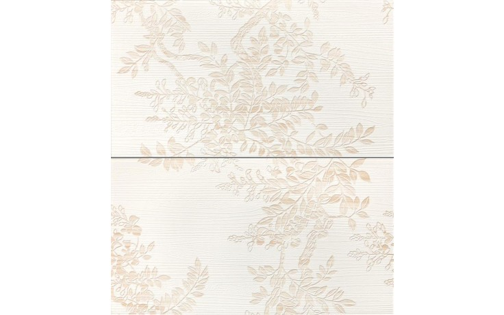 RAKO WENGE SET dekor 25x45cm bílá WITP3019