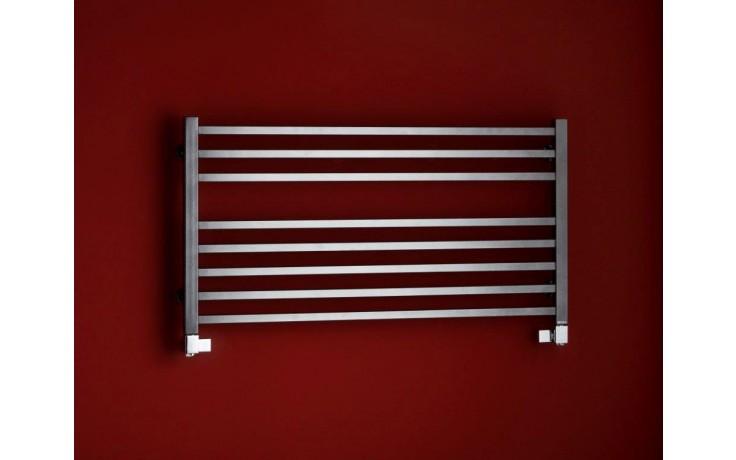 Radiátor koupelnový PMH Galeon 600/1280 490 W (75/65C) černá RAL9005 FS