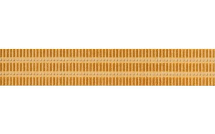 Listela Rako Remix 25x4,3x0,7 oranžová