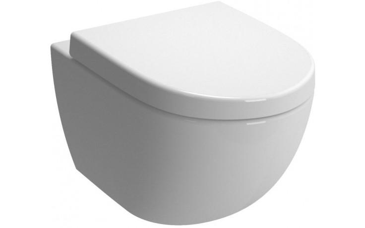 WC závěsné Vitra odpad vodorovný Sento  bílá
